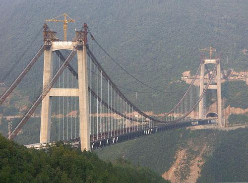 plus haut pont du monde